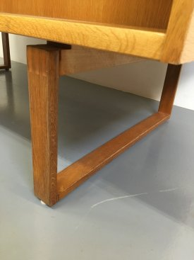 Dyrlund Oak Desk