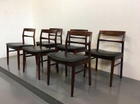 Henning Kjærnulf Rosewood Chairs