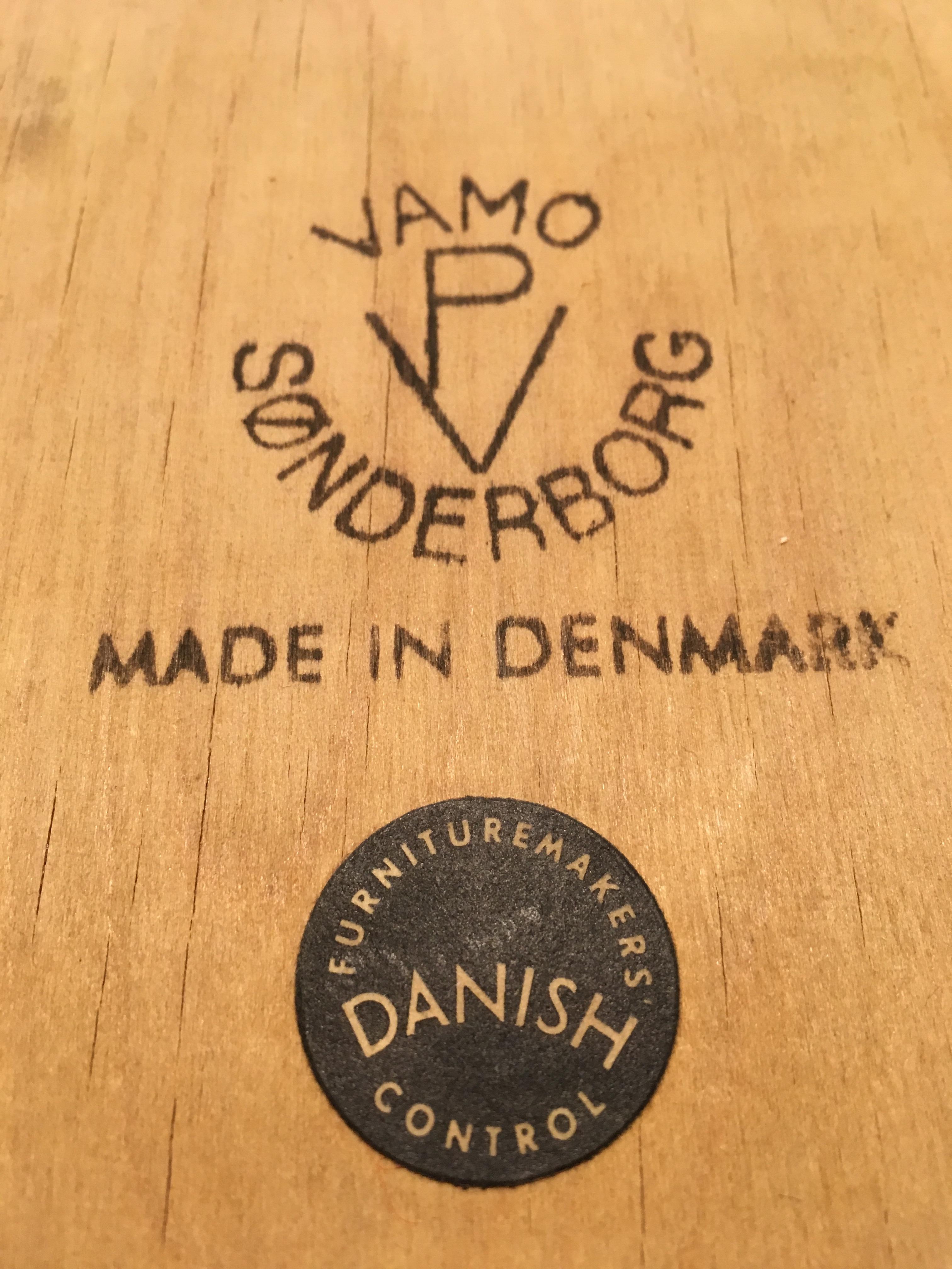 Danish Teak Carver