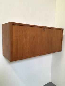 Teak Wall Mounted Cabinet