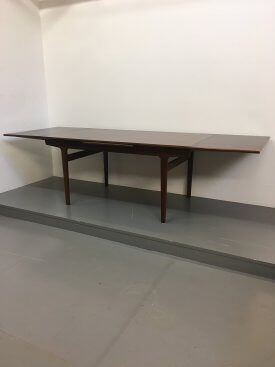 Rosewood extending table