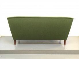 Danish green sofa