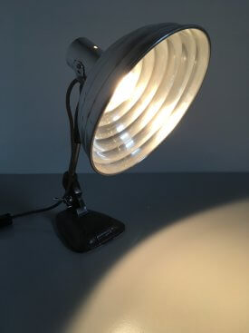 British Industrial Table Lamp