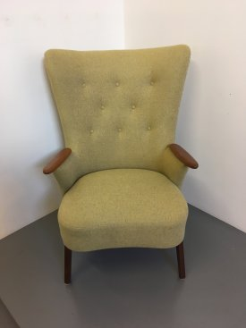Danish Highback Armchair