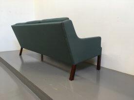 Danish Teal Sofa