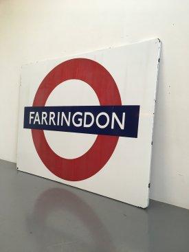 Farringdon Tube Sign