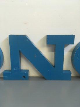 Steel 3D letters