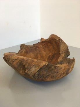 Round Burl Bowl