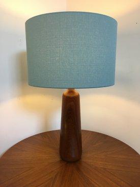 Teak Bottle Table Lamp