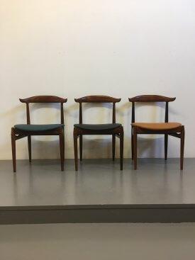 Knud Færch Rosewood Cow Horn Chair