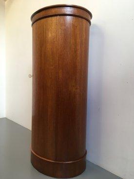 Oval Pedestal Cabinet