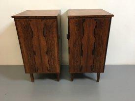 Rosewood Bedside Cabinets