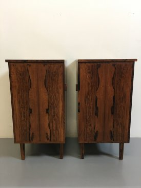 Rosewood Bedside Cabinets