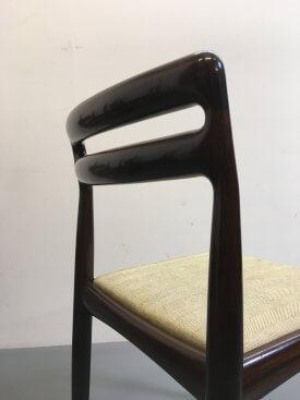 6 Bramin Mahogany Chairs