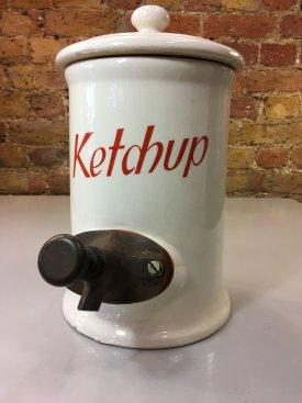 American Ketchup Dispenser