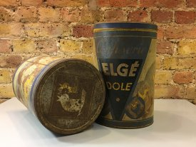 German and Danish Coffee Tins