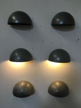 Galvanised Wall Lights