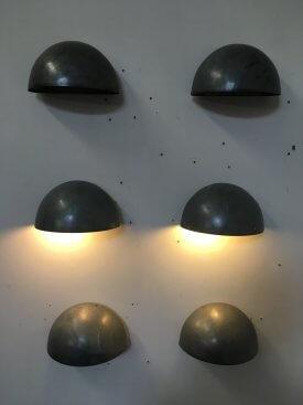 Galvanised Wall Lights