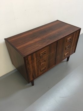 Rosewood 6 Drawer Cabinet