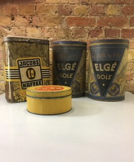 German and Danish Coffee Tins
