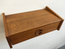 Teak Round Handle Wall Drawer