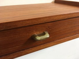 Brass Handle Wall Drawer