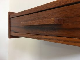 Teak Baton Wall Drawers