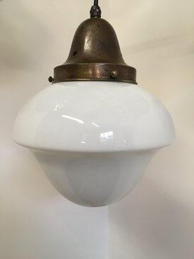 Acorn Shaped Opaline Pendant
