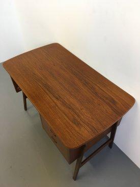 Teak 'H' Frame Desk