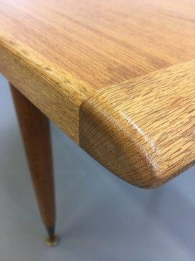 Danish Oak & Teak Coffee Table