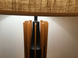 Round Skyscraper Table Lamp