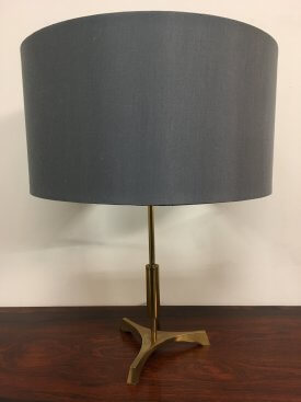 Brass Tripod Table Lamp