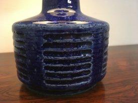 Palshus Blue Stoneware Lamp