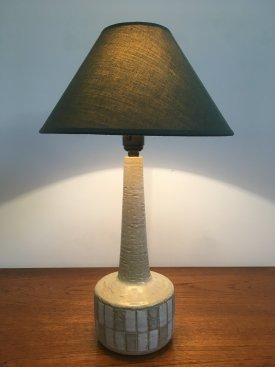 Beige & White Palshus Lamp