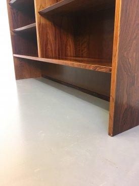 Large Rosewood Bookcase