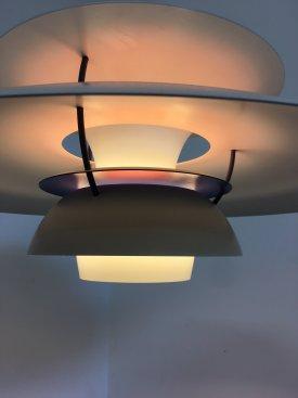 White PH 5 Lamp