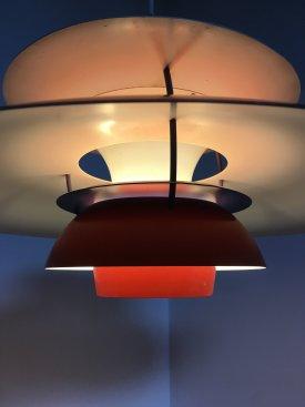 Red PH 5 Lamp