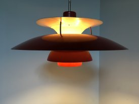 Red PH 5 Lamp
