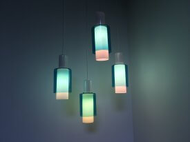 Louis Poulsen Glass Pendants