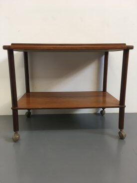 British Teak Trolley