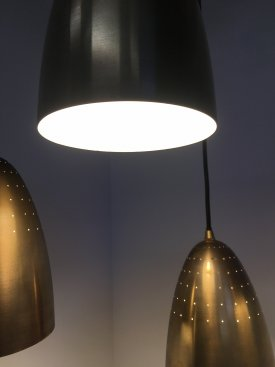 Brass Perforated Pendants