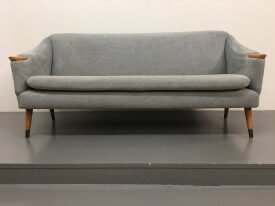 Blue Norwegian sofa