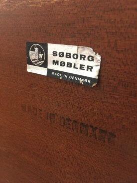 Hvidt & Molgaard-Nielsen Tambour Sideboard