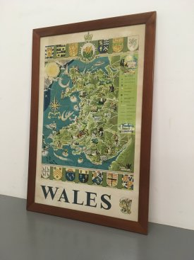 1960's Poster of Wales