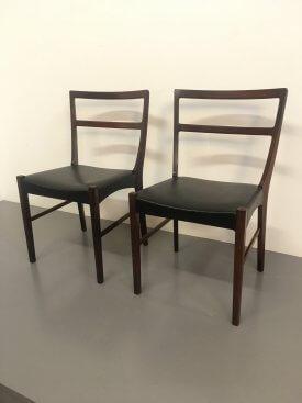 Bernhard Pedersen & Son Rosewood Chairs