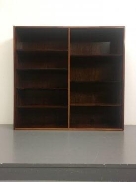Large Danish Rosewood Bookcase