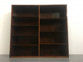Large Danish Rosewood Bookcase