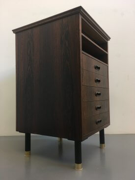 Square Rosewood Cabinet