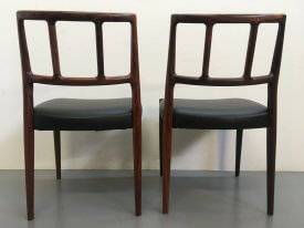 Johannes Andersen Rosewood Chairs