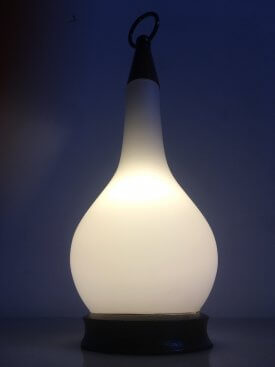 Opaline Table Lantern